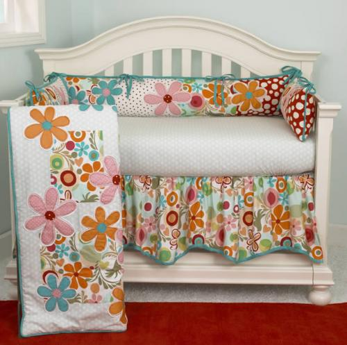 Lizzie 4 Piece Crib Bedding Set by Cotton Tale Designs Thumbnail