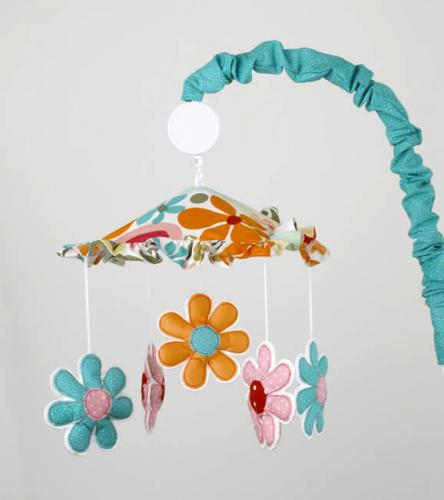 Lizzie  Musical Mobile by Cotton Tale Designs