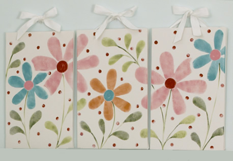 Lizzie  Wall Art (3 Pieces) by Cotton Tale Designs