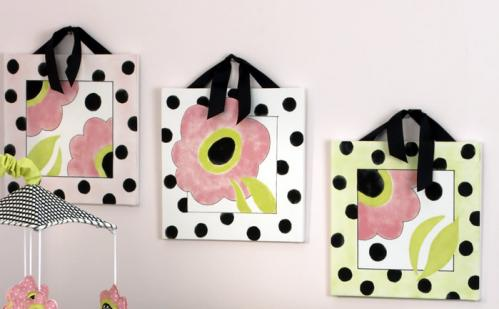 Poppy  Wall Art (3 Pieces) by Cotton Tale Designs
