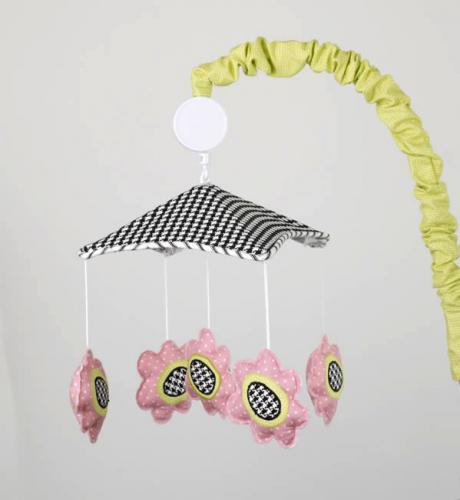 Poppy  Musical Mobile by Cotton Tale Designs