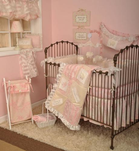 Heaven Sent Girl 4 Piece Baby Bedding Set by Cotton Tale Designs Thumbnail
