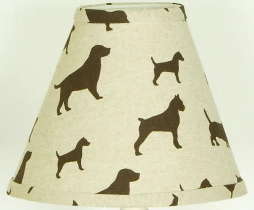 Houndstooth Lamp Shade by Cotton Tale Designs