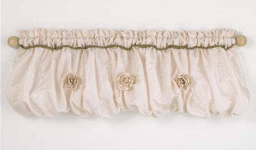 Lollipops & Roses Balloon Valance by Cotton Tale Designs