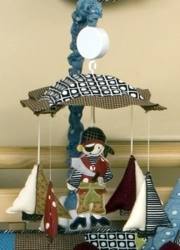 Pirates Cove Musical Mobile by Cotton Tale Designs