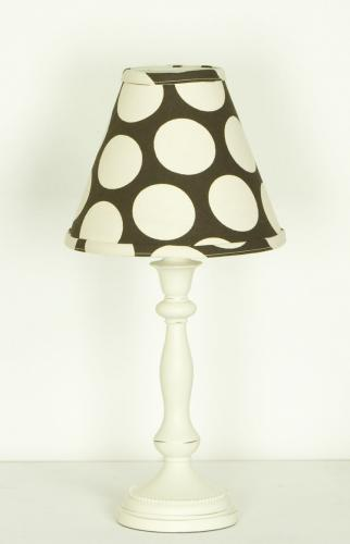 Raspberry Dot Lamp Shade by Cotton Tale Designs