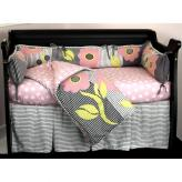 Poppy 4 Piece Crib Bedding Set by Cotton Tale Designs