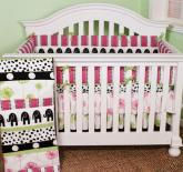 Hottsie Dottsie 4 Piece Baby Bedding Set by Cotton Tale Designs