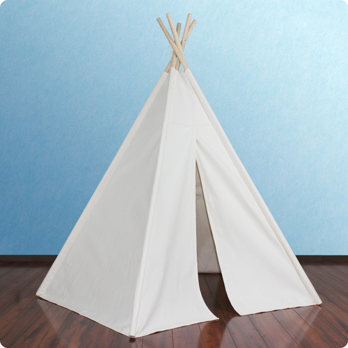 6ft Paintable Hideaway Five Panel Teepee Thumbnail