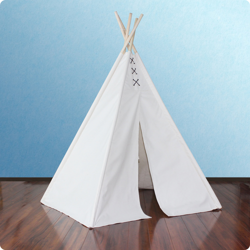 6ft Hideaway Lace Tie Five Panel Teepee Thumbnail