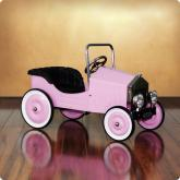 Voiture Pink Classic Pedal Car