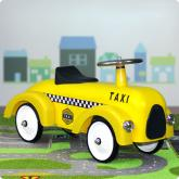 Taxi Cab Foot to Floor Racer