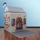 Toadi Castle Playhouse  & Floor Quilt (Small)