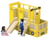 School Bus Playtime Loft