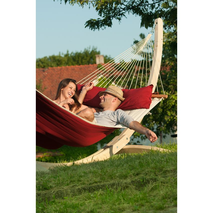 Red Pepper King Size Hammock With Spreader Bars Thumbnail 7