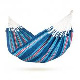 Blueberry Striped Double Hammock