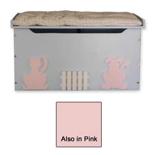 Friendly Pets Toy Box & Bench