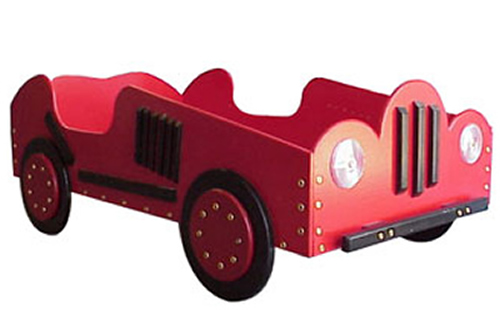 Old Time Car Toddler Bed