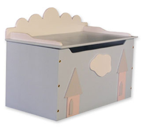 Princess Kingdom Toy Box & Bench