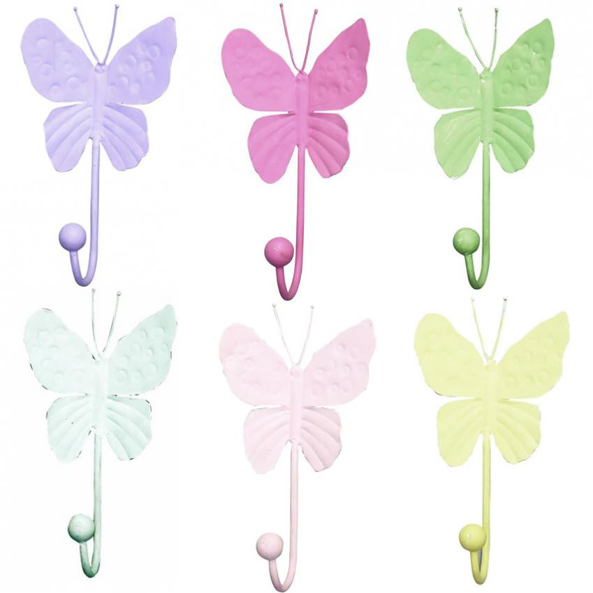 5-Arm Ivory Chandelier (optional Butterfly Shades) Thumbnail 3
