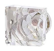 Clear Square Knob by Jubilee