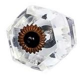 Clear Curved Knob by Jubilee