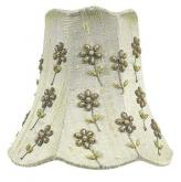 Green Daisy Pearl Chandelier Shade by Jubilee