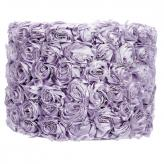 Large Shade - Drum - Solid Rose Garden - Lavender