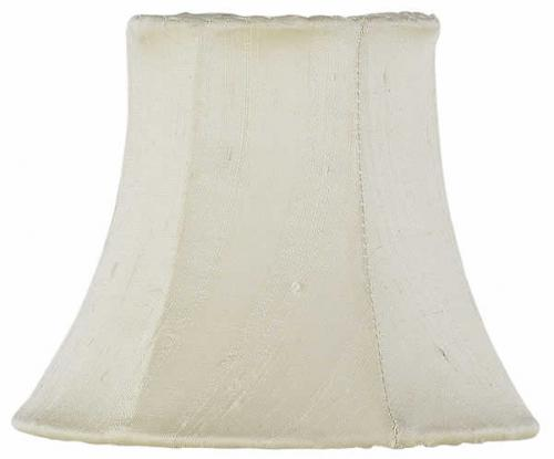 Solid Ivory Chandelier Shade