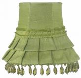 Green Skirt Dangle Chandelier Shade