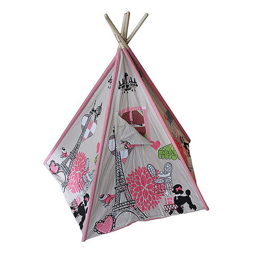 Paris Chic Kids Canvas Teepee Thumbnail 1