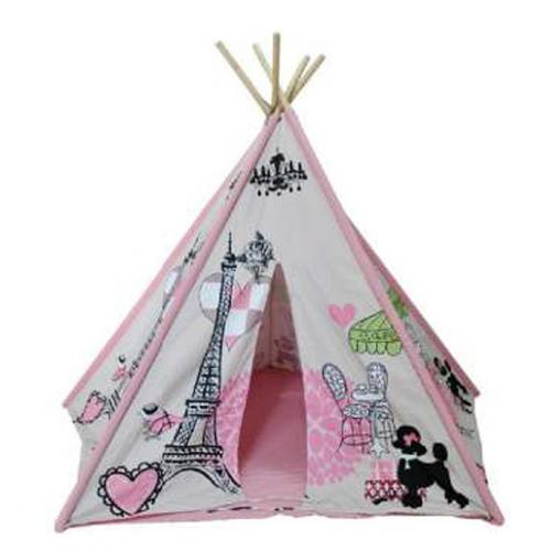 Paris Chic Kids Canvas Teepee Thumbnail