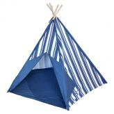 New England Striped Kids Canvas Teepee