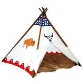 Indian Bison Kids Canvas Teepee