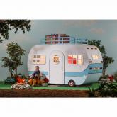 Family Vacation Retro Camper Play Bed