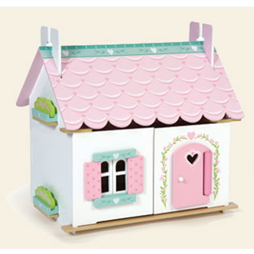 Lily's Cottage Dollhouse - Furnished