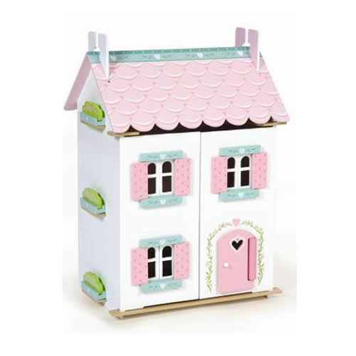 Sweetheart Cottage Dollhouse - Furnished