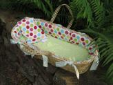 Avery Moses Basket by Maddie Boo