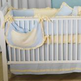 Monogram Crib Bedding by Maddie Boo