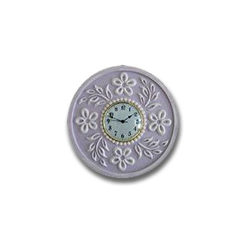 Flower Clock - Distressed Pale Lilac Thumbnail