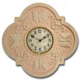 Butterfly Clock - Distressed Pale Pink