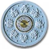 Ladybug Clock - Distressed Powder Blue