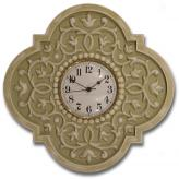Mediterraneanean Clock - Distressed Tan
