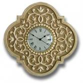 Mediterrean Clock - Distressed Brown