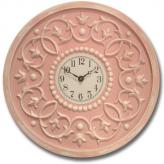 Vine Clock - Distressed Pink