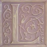 Letter Plaque L - Distressed Lilac
