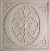 Letter Plaque O - Distressed Pale Pink