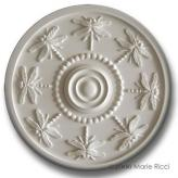 Dragonfly Chandelier Medallion - Solid White