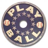 Play Ball Chandelier Medallion - Distressed Navy