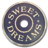 Sweet Dreams Chandelier Medallion - Distressed Navy